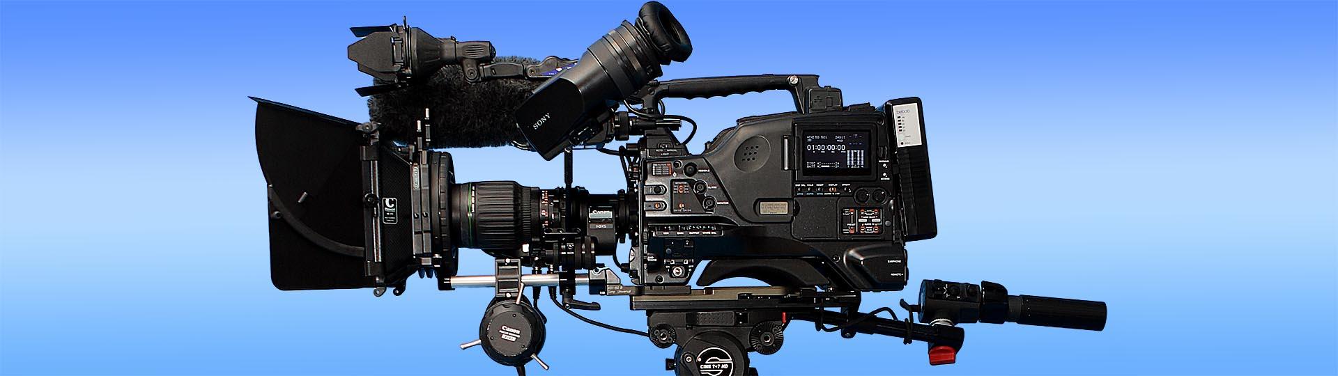 High-End-Kamera für Spielfilm, Dokumentarfilm und Imagefilm aus dem hauseigenen Gerätepool von Media Future Team